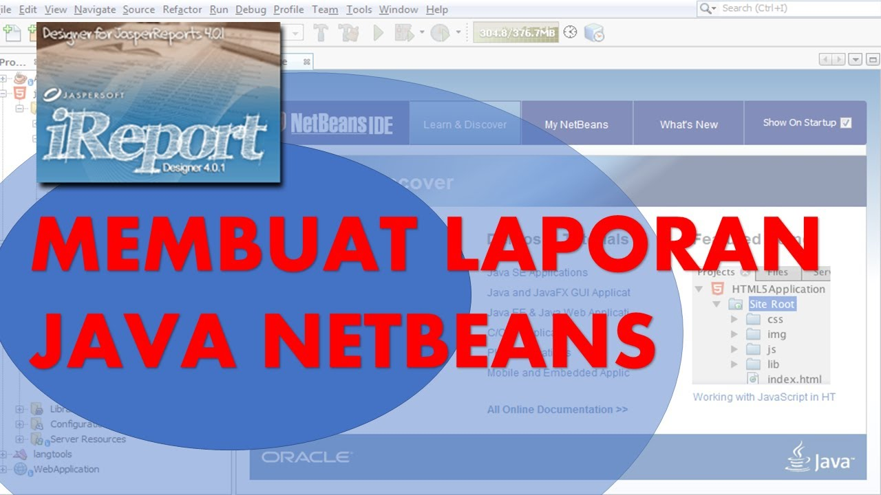 how to create jasper report in netbeans