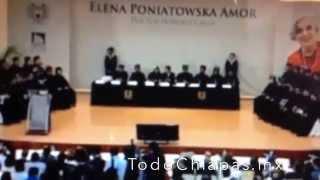 Elena Poniatowska recibe Honoris Causa por la UNACH - Discurso