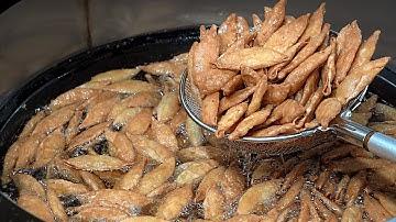 당신이 먹던 떡볶이집 튀김만두(야끼만두) 만드는곳, 170원 도소매 야끼만두 공장 / Korean Fried Dumplings, Korean Street Food