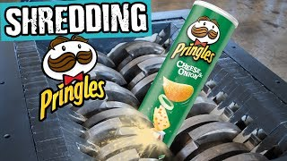 Shredding Pringles - Shredding Stuff