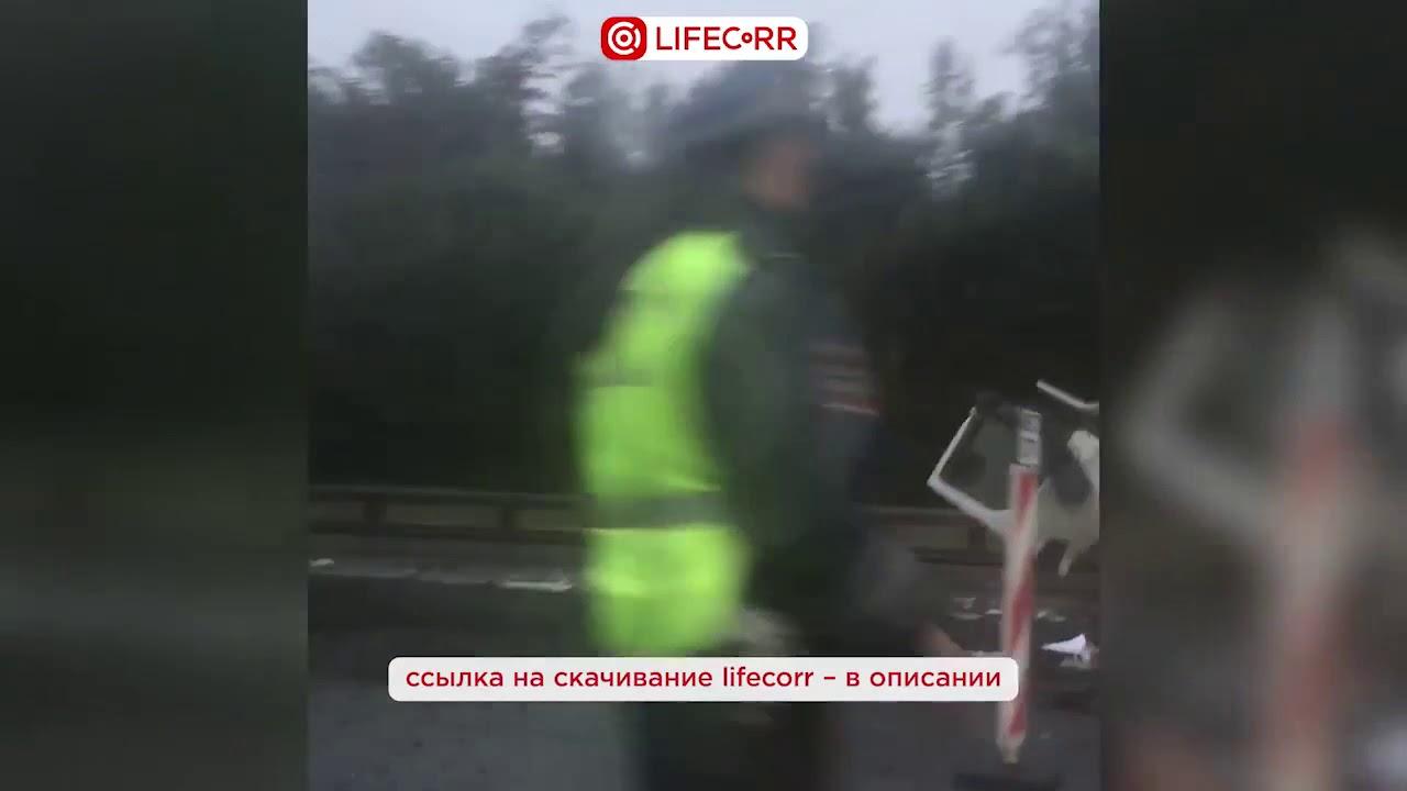 05.09.2017 авария на мкаде утром