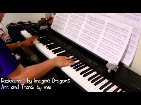 Imagine Dragons - Radioactive (piano by ear w/ sheets)