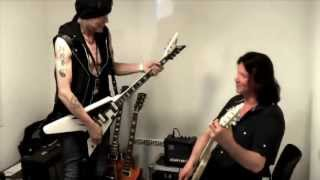 Michael Schenker jamming with John Norum