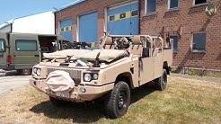 FOX RRV Jankel Rapid Response Vehicle technical review Belgian Army Special Forces