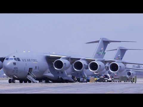 Top 5 Largest Military Cargo Aircraft 2016-2017   Top List Ever