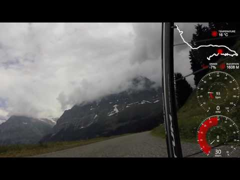 Descending Col Grindelwald to Interlaken