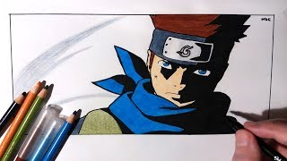 Speed Drawing Team 7 Sensei Konohamaru Sarutobi - Boruto Naruto Next Generations
