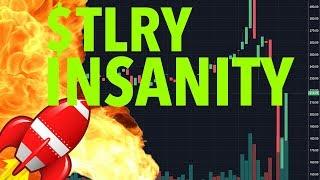 $TLRY TILRAY STOCK INSANITY! GIVE AWAY?