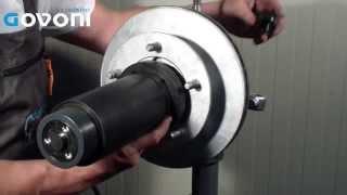323028000 ford transit front wheel hub bearing remover installer kit