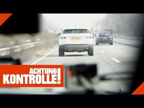 Luxemburger rast auf auf der Autobahn! Wie hoch ist die Strafe? | Achtung Kontrolle | kabel eins
