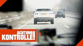 Luxemburger rast auf der Autobahn! Wie hoch ist die Strafe? | Achtung Kontrolle | kabel eins