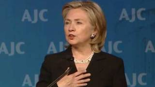 Secretary Clinton Speaks at American Jewish Committee Annual Gala Dinner