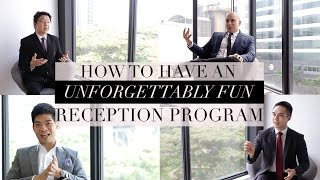 How to Have an Unforgettably Fun Reception