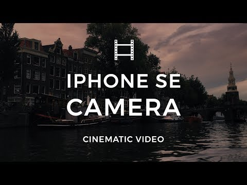 iPhone Cinematic Video Footage   Amsterdam   iPhone SE and Filmic Pro #2