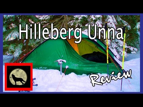 Hilleberg Unna, 4 Season, One Plus Person Backpacking Tent  -No Frills, Ready for extreme conditions