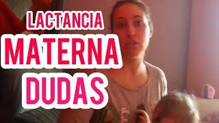 LACTANCIA MATERNA DUDAS   Preguntas Frecuentes, Primeros días Calostro, subida de la leche