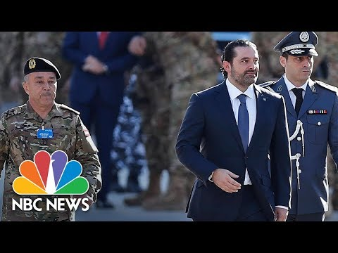 Download Youtube: Lebanon Prime Minister Saad Hariri Seen At Parade After Mysterious Resignation | NBC News