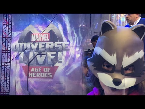 Marvel Universe LIVE! Full Show!!!