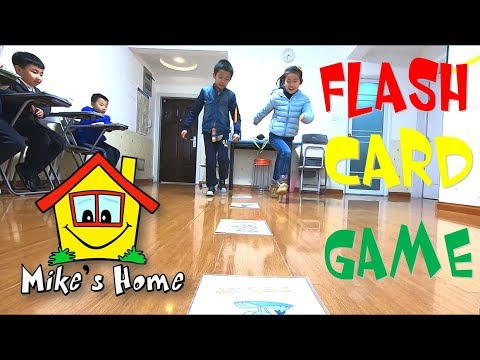 Flash Card Game - ESL Teaching Tips - Mike's Home - Classroom Games
