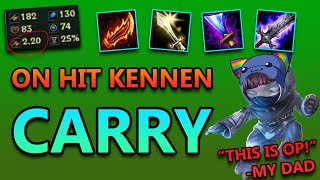 ON HIT CARRY KENNEN - League of Legends Commentary