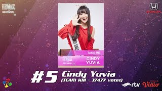 PEMILIHAN MEMBER SINGLE KE-17 JKT48 - #5 (CINDY YUVIA - TEAM KIII) [HD]