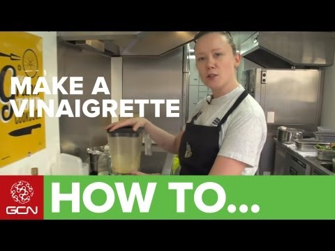 how-to-make-honey-mustard-vinaigrette---gcn's-food-for-cycling
