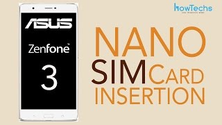 ASUS Zenfone 3 - How To Change SIM Card