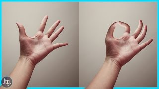 Photoshop Tutorial: How to Pinch and Bend Fingers using the Puppet Warp Tool!