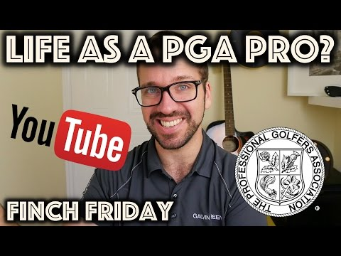 Being A PGA Pro on YouTube - Positives and Negatives
