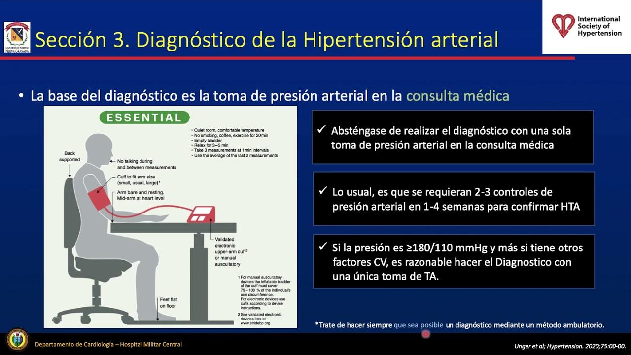 Hipertensión arterial: Guías 2020 ISH/HJH para el..