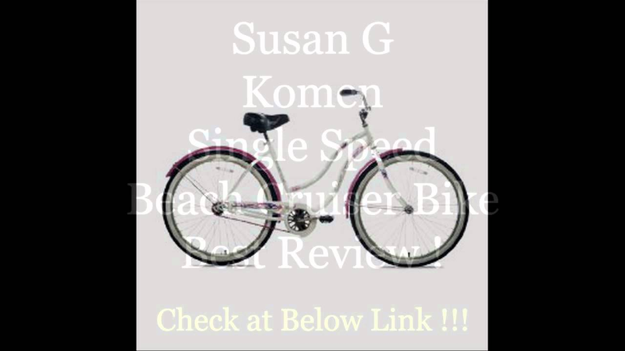 Susan G Komen Single Speed Beach Cruiser Bike (26-Inch Wheels ...