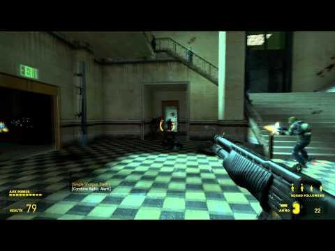 "Half Life 2 Walkthrough ""Chapter 11 - Follow Freeman!"" HD"
