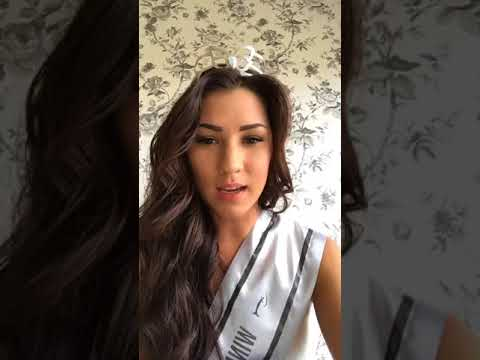 Live chat with Kaja Caroline Kojan, Miss Universe Norway 2017