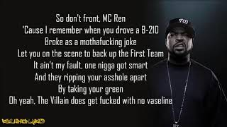 Ice Cube - No Vaseline (Lyrics)