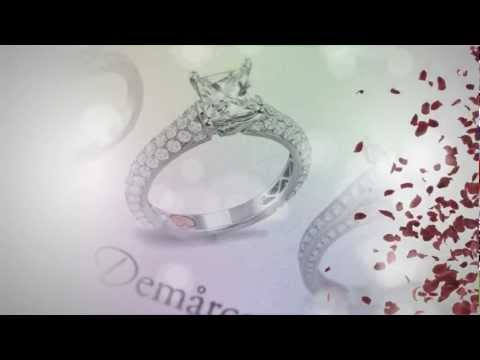 Unique Engagement Rings from Demarco Bridal Jewelry