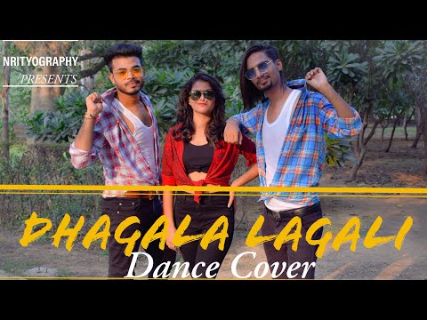 Dhagala Lagali || Dance Cover || By Nrityography || Nidhi Sonu Pawan || Dream Girl ||