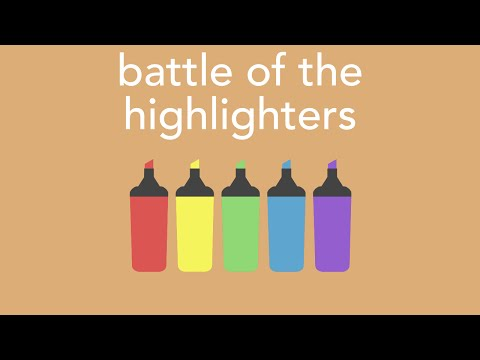 battle of the highlighters