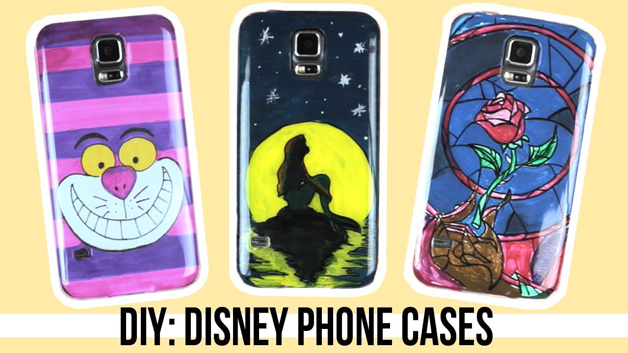 newest 64027 93f62 DIY: Disney inspired Phone Cases | Alice in Wonderland, Ariel, Beauty & the  Beast