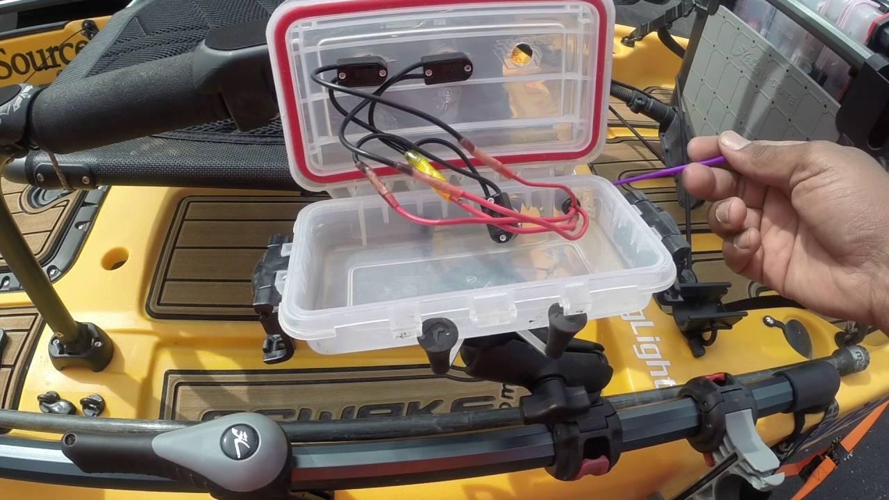 medium resolution of kayak battery wiring diagram