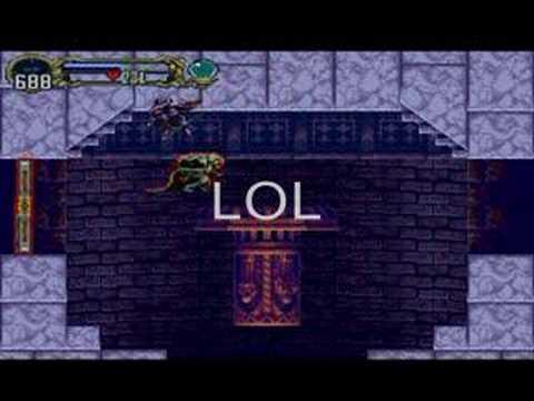 Castlevania SOTN bat glitch - YouTube