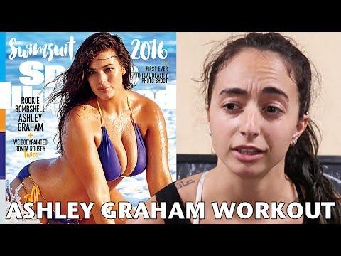I Tried Plus-Size Model Ashley Graham's Workout