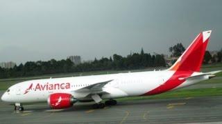 Boeing 787 - Avianca: Flight report AV26 [BOG-MAD]