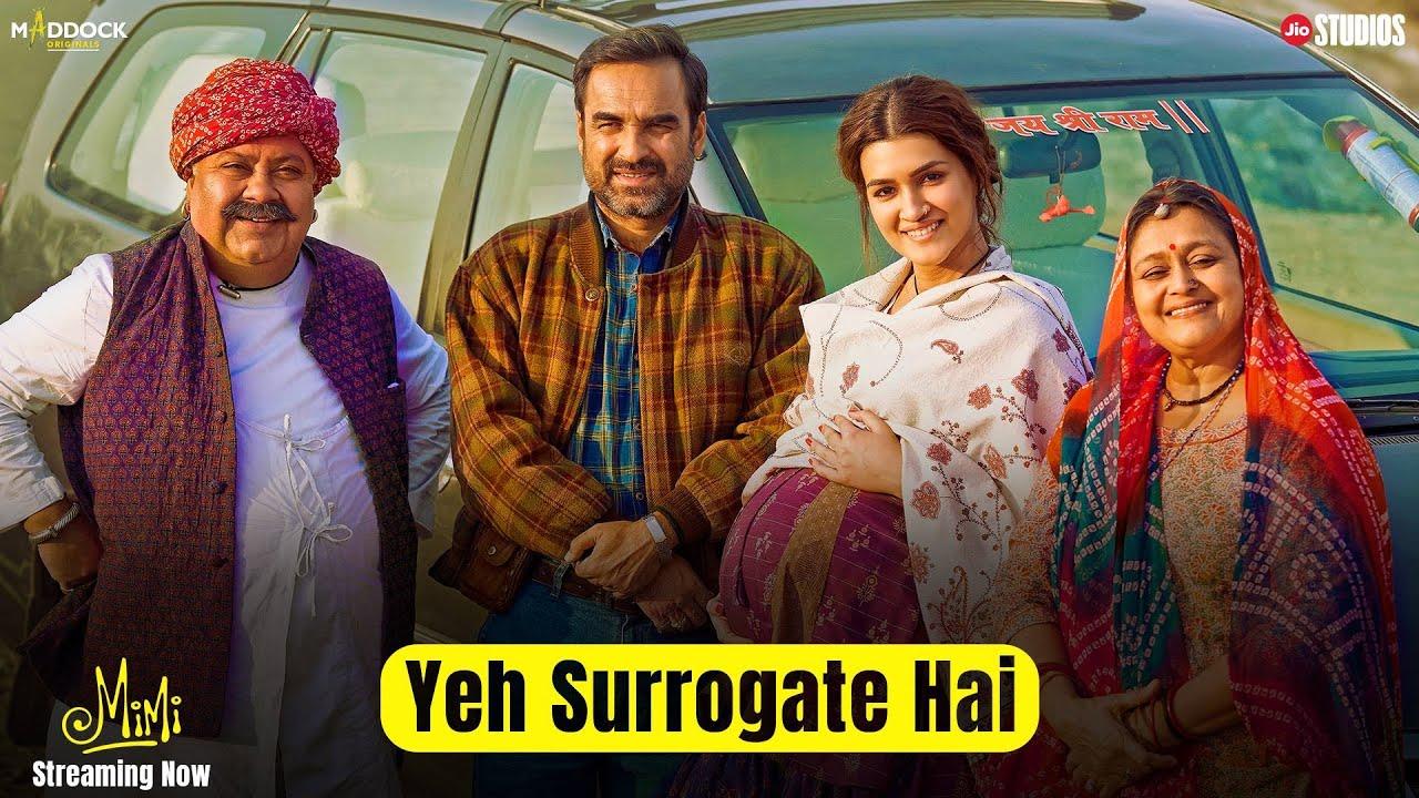 "Mimi- ""Yeh Surrogate Hai"" | Kriti, Pankaj, Sai | Dinesh, Laxman | Streaming Now- JioCinema & Netflix"