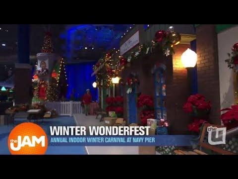 Sneak Peak at the Annual Indoor Winder Wonderfest at Navy Pier