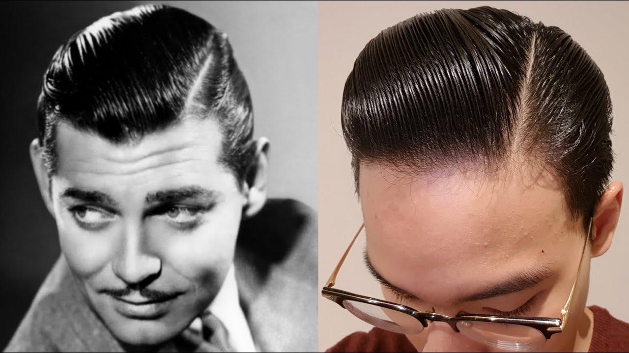 Clark Gable Hair Tutorial