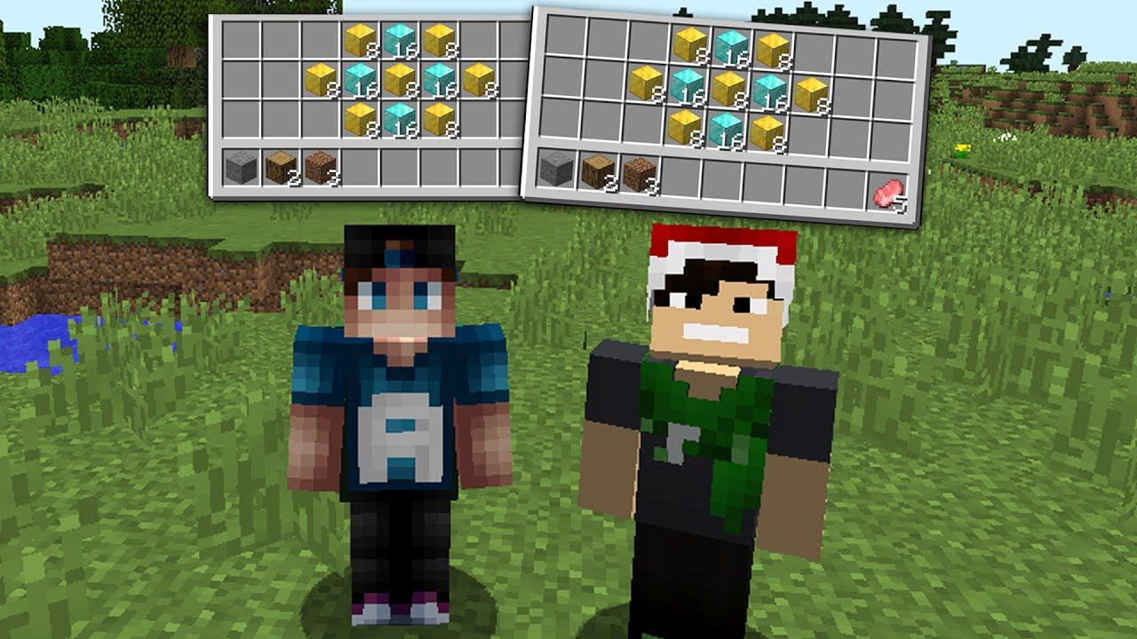 Download Sharing an inventory with my new minecraft friend