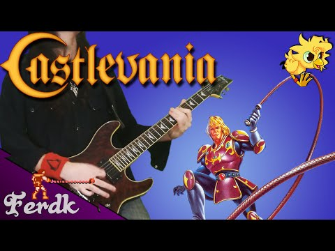 "Castlevania II: Simon's Quest - ""Bloody Tears"" 【Metal Guitar Cover】 by Ferdk"