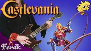 "Castlevania II: Simon's Quest - ""Bloody Tears"" 【Metal Guitar Cover】 by Ferdk"