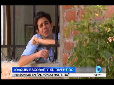 Domingo al Día - 150913 - Joaquín Escobar y su divertido personaje en 'Al fondo hay sitio'
