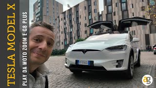 La TECNOLOGIA di TESLA MODEL X. PLAY MOTO One Zoom e G8 Plus